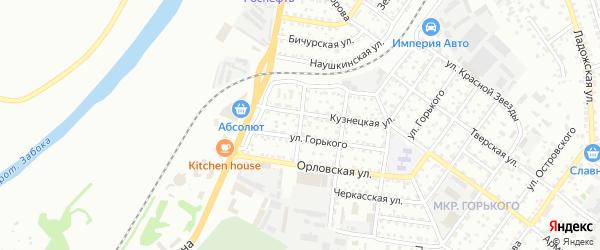 Чулымская улица на карте Улан-Удэ с номерами домов