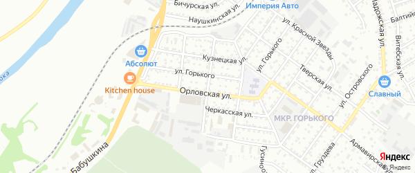 Иртышская улица на карте Улан-Удэ с номерами домов