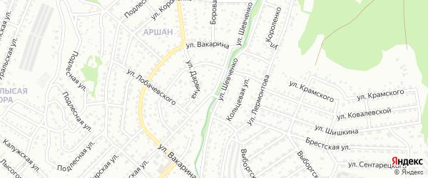 Улица Шевченко на карте Улан-Удэ с номерами домов