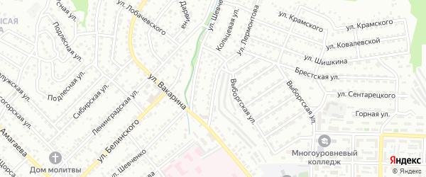 Улица Лермонтова на карте Улан-Удэ с номерами домов