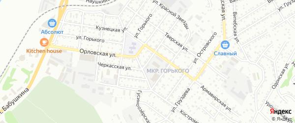 Черкасская улица на карте Улан-Удэ с номерами домов