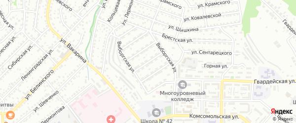 Джамбульская улица на карте Улан-Удэ с номерами домов