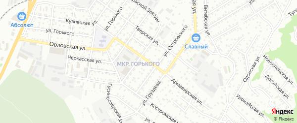 Армавирская улица на карте Улан-Удэ с номерами домов