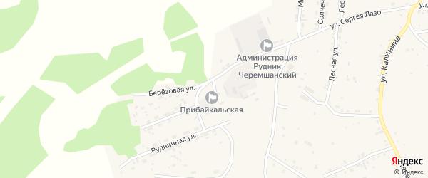 Улица Подстанция на карте села Турунтаево с номерами домов