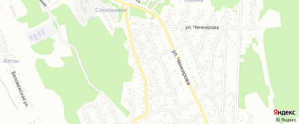118-й микрорайон на карте Улан-Удэ с номерами домов