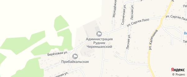 Молодежная улица на карте села Турунтаево с номерами домов