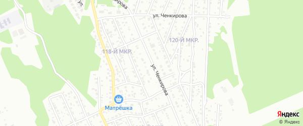 Улица Ченкирова на карте Улан-Удэ с номерами домов