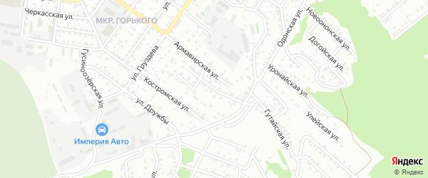 Зугалайская улица на карте Улан-Удэ с номерами домов