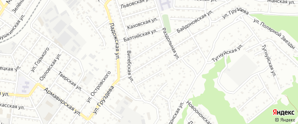 Улица Груздева на карте Улан-Удэ с номерами домов