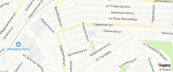 Харьковская улица на карте Улан-Удэ с номерами домов