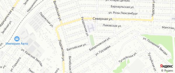 Каховская улица на карте Улан-Удэ с номерами домов
