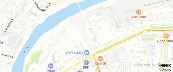 Приречная улица на карте Улан-Удэ с номерами домов