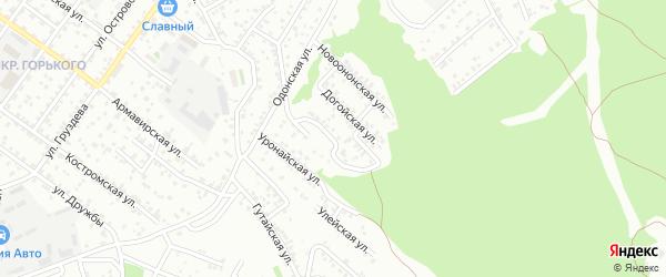Татхальская улица на карте Улан-Удэ с номерами домов