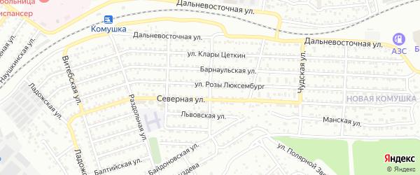 Запорожская улица на карте Улан-Удэ с номерами домов
