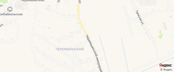 Черемшанский микрорайон на карте села Турунтаево с номерами домов