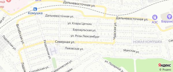 Улица Р.Люксембург на карте Улан-Удэ с номерами домов