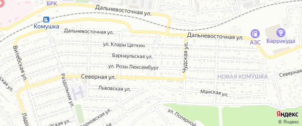 Волховская улица на карте Улан-Удэ с номерами домов