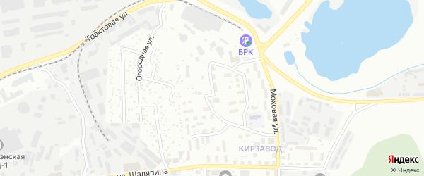 Кирпичная улица на карте Улан-Удэ с номерами домов