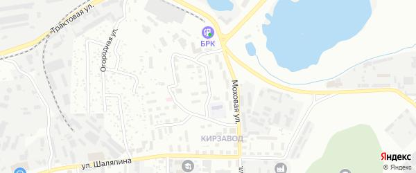 Кирзаводская улица на карте Улан-Удэ с номерами домов