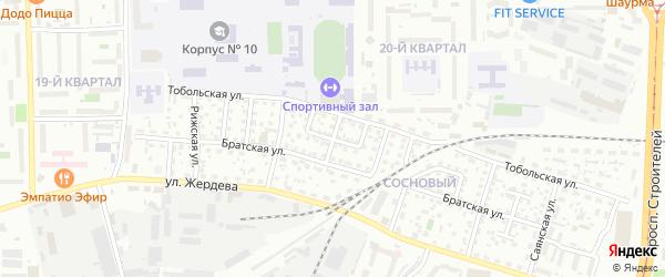 Ганзуринская улица на карте Улан-Удэ с номерами домов