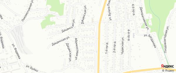 Плодовая улица на карте Улан-Удэ с номерами домов