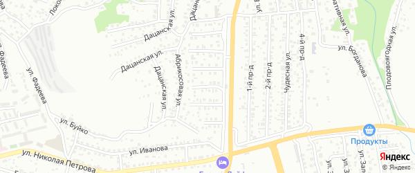 Черемуховая улица на карте Улан-Удэ с номерами домов