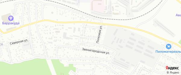 Отрадная 2-й проезд на карте Улан-Удэ с номерами домов