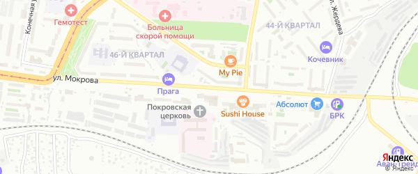 Улица Мокрова на карте Улан-Удэ с номерами домов