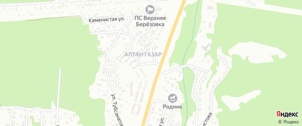 Улица Алтан Газар на карте Улан-Удэ с номерами домов