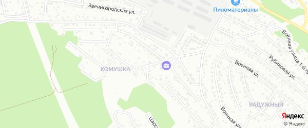 Бирюзовая улица на карте Улан-Удэ с номерами домов