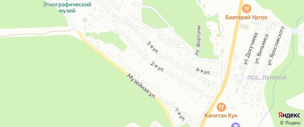 Музейная улица на карте территории СНТ им Тимирязева с номерами домов