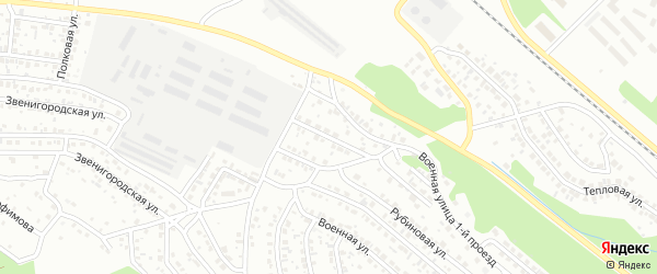 Улица Яблочная 2-я проезд 10 на карте Улан-Удэ с номерами домов