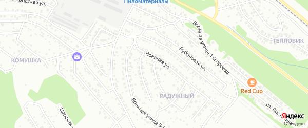 Улица Подорожная проезд 3 на карте Улан-Удэ с номерами домов