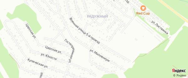 Отрадная 5-й проезд на карте Улан-Удэ с номерами домов