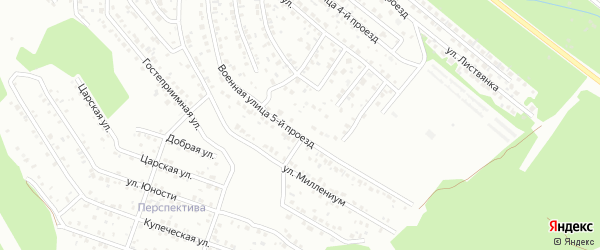 Энергостроительная 5-й проезд на карте Улан-Удэ с номерами домов
