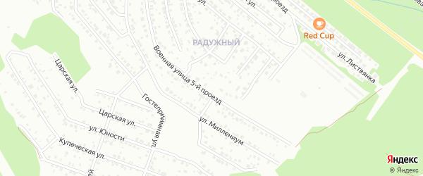 Улица Медная 5 проезд (СНТ Металлист) на карте Улан-Удэ с номерами домов