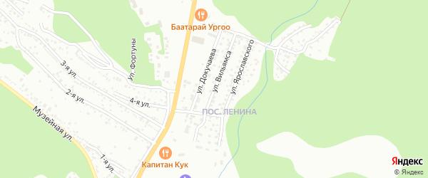 Улица Вильямса на карте Улан-Удэ с номерами домов