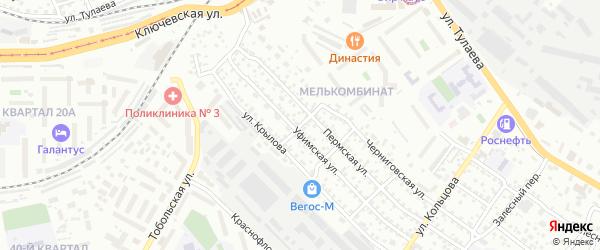 Станционная улица на карте Улан-Удэ с номерами домов