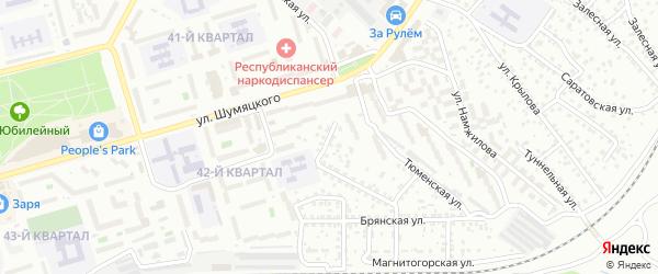 Алтайская улица на карте Улан-Удэ с номерами домов