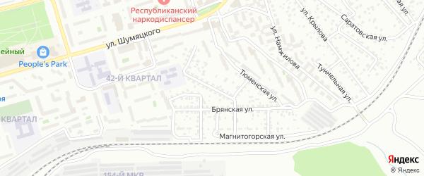 Мукомольная улица на карте Улан-Удэ с номерами домов