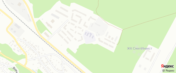 Микрорайон 140А на карте Улан-Удэ с номерами домов