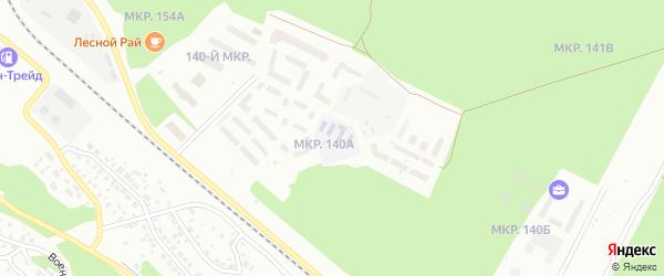 Улица 140А мкр на карте Улан-Удэ с номерами домов
