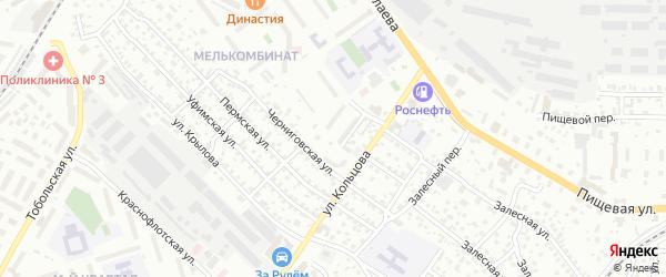Улица Попова на карте Улан-Удэ с номерами домов