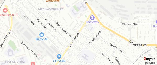 Улица Кольцова на карте Улан-Удэ с номерами домов