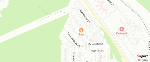 Запрудная улица на карте Улан-Удэ с номерами домов