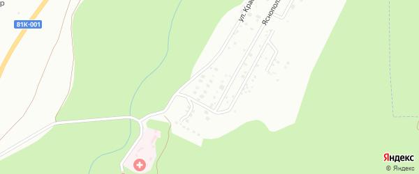 5-я улица на карте дачного некоммерческого партнерства ДНТ Березка 10-е с номерами домов