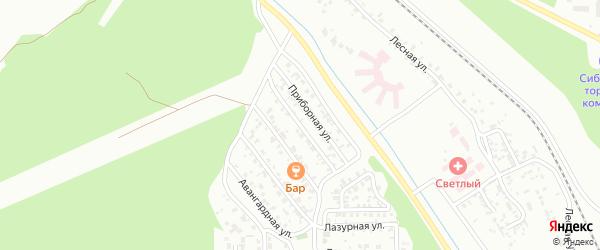 Небесная улица на карте Улан-Удэ с номерами домов