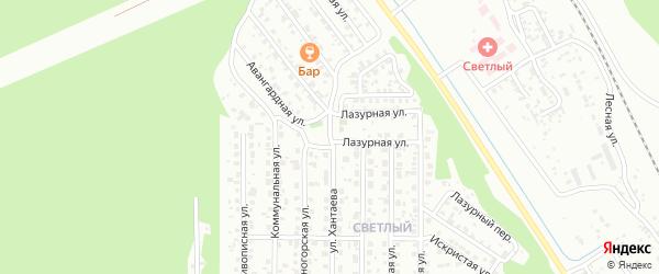 Улица Хантаева на карте Улан-Удэ с номерами домов