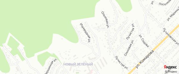 Ольховая улица на карте Улан-Удэ с номерами домов