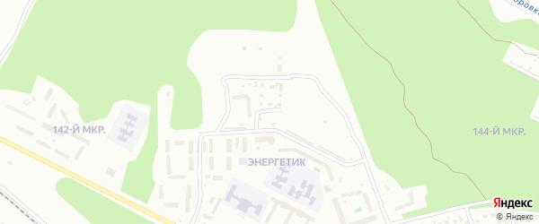 Чистая улица на карте Улан-Удэ с номерами домов